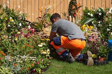 Bordure de jardin et am nagement du jardin bordure alu for Jardinier professionnel