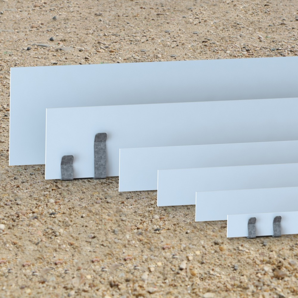 Bordure jardin pvc blanc for Bordures jardin pvc