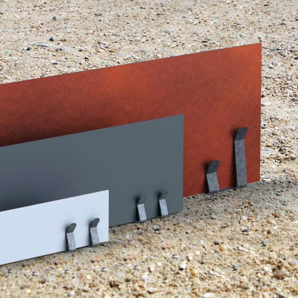 pinces de bordures de jardin all es massifs pav s enrob s gravier. Black Bedroom Furniture Sets. Home Design Ideas