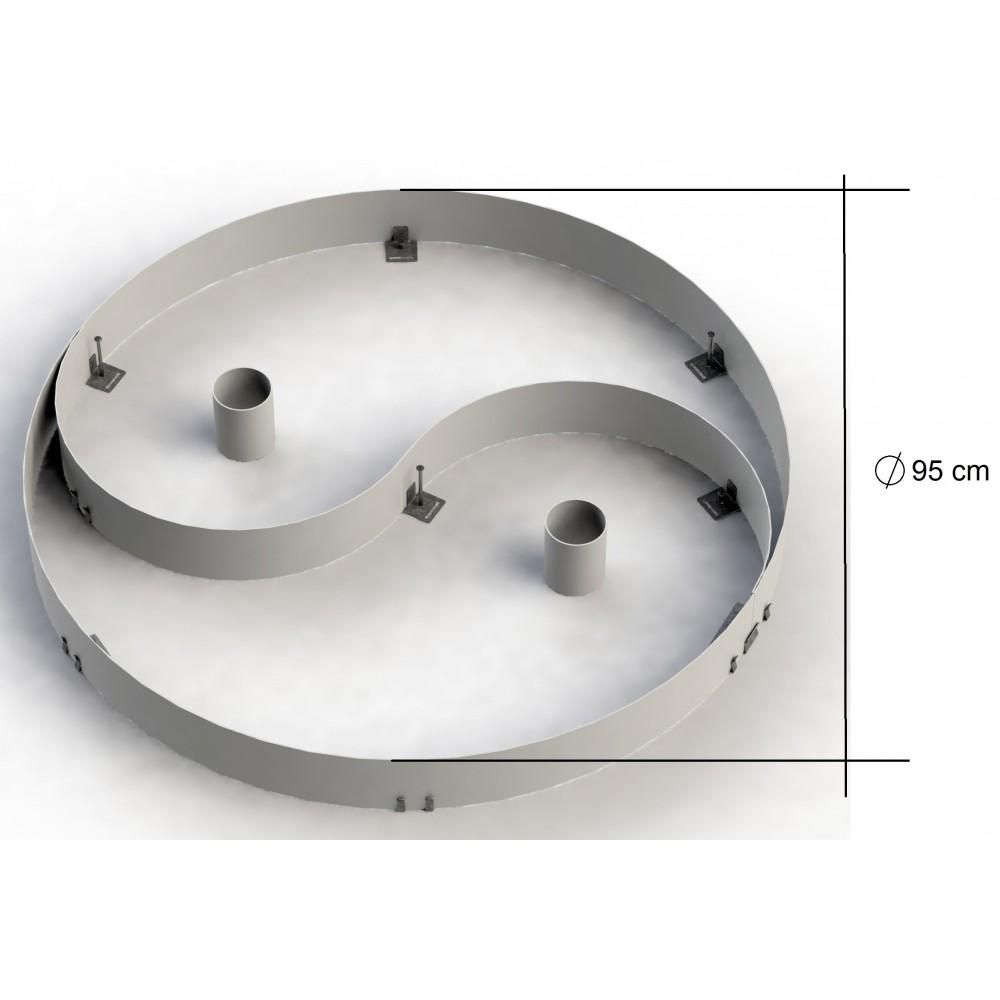 Yinyang jardin japonais zen yin et yang yin yang yin for Jardin yin yang