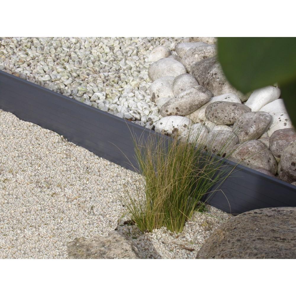 Bordure De Jardin Flexible Couleur Noir - Bordure Jardin En Alu ...