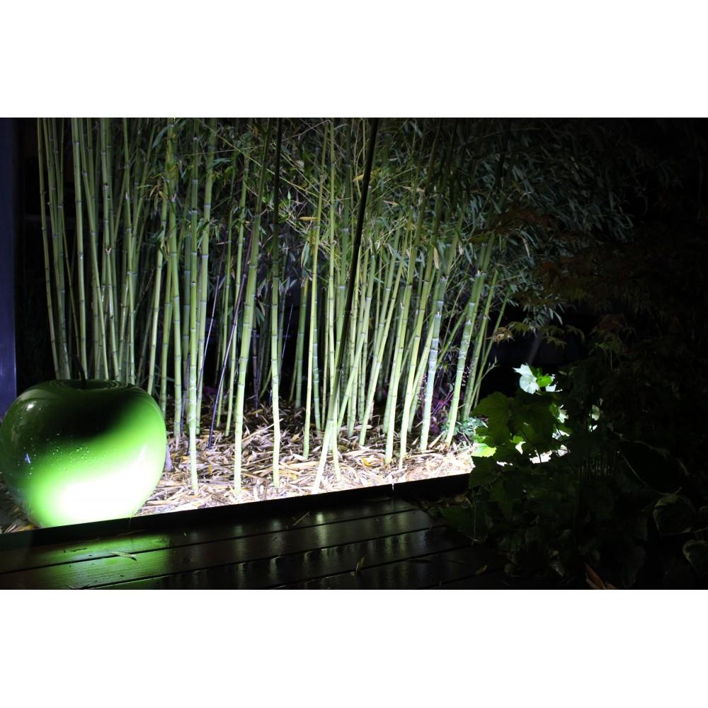 Kit éclairage LED pour bordures de jardin en aluminium massif allée