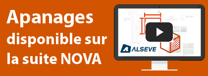 bordure apanages disponible sur la suite Nova