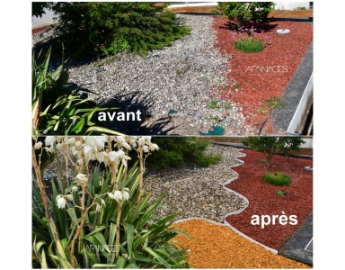 BORDURE DE DELIMITATION DE JARDIN PVC SOUPLE
